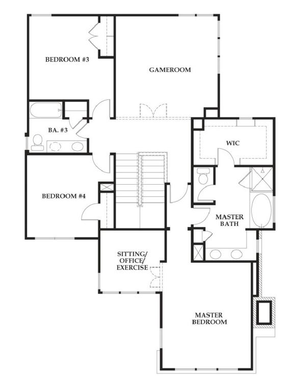 Standard pacific homes austin floor plans thefloors co for Austin home plans